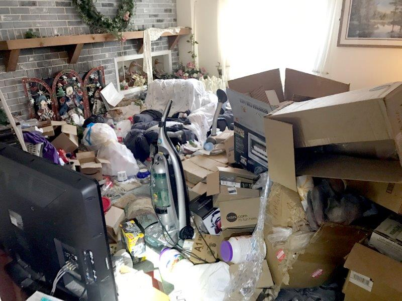 Whole House Clean Out, Hoarder House Clean Out, Gross Filth